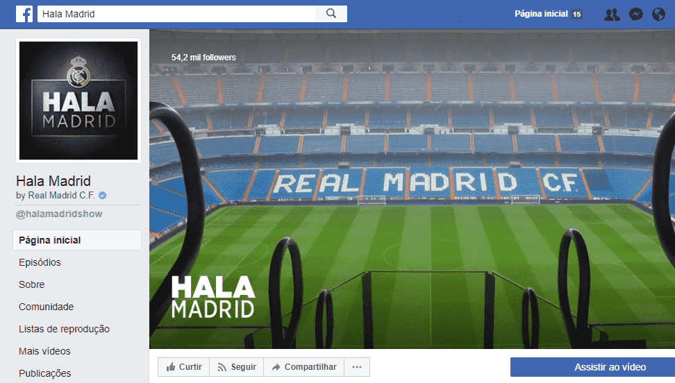"Real Madrid é o primeiro time de futebol a lançar documentário exclusivo no ""Watch"" do Facebook"