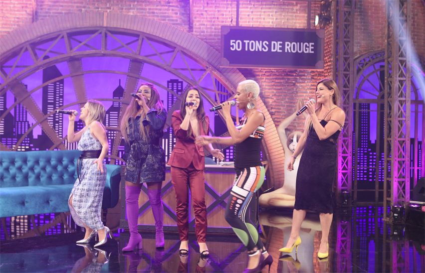 "Episódio de ""Lady Night"" com Rouge está com sinal aberto no Multishow Play"