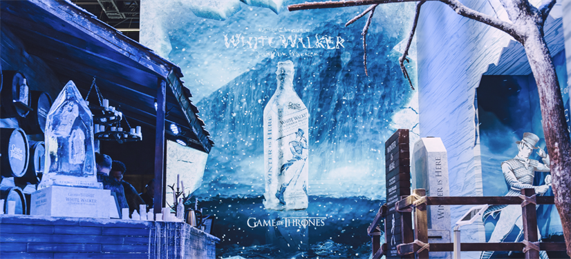 CCXP: Johnnie Walker apresenta White Walker