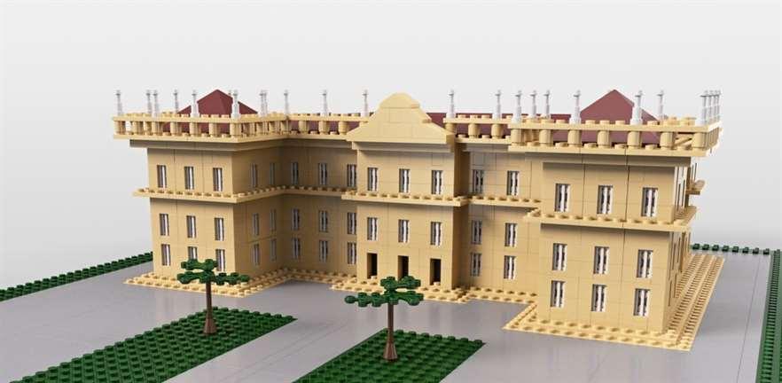 Lego sugere linha inspirada no Museu Nacional