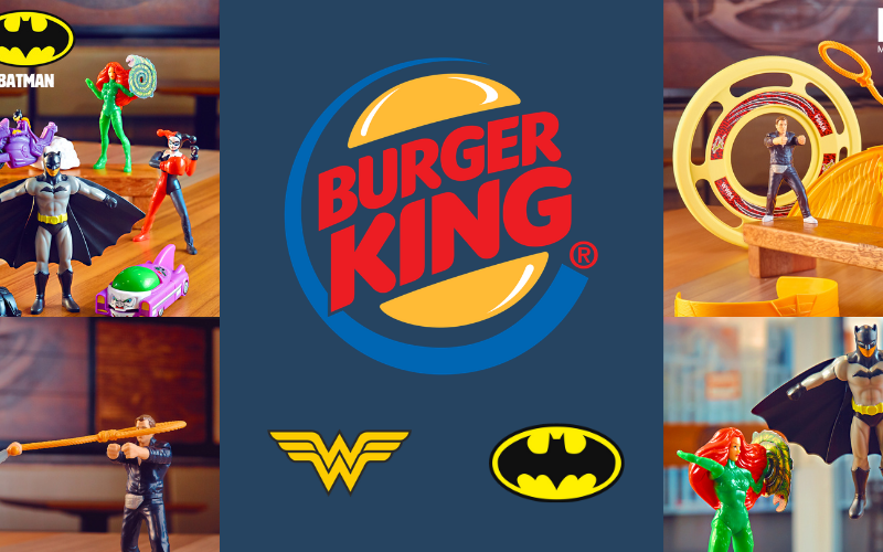 Burger King MM e batman