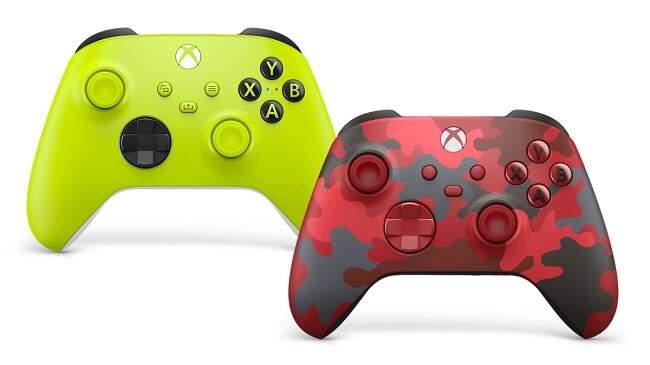 novos controles xbox series x/s
